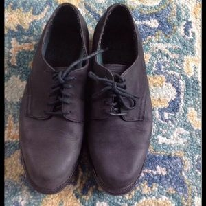 FRYE Shoes - FRYE BLACK LEATHER OXFORD MENS SHOES 9.5